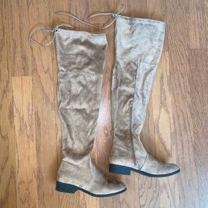 Pierre Dumas • Suede Over The Knee Boots